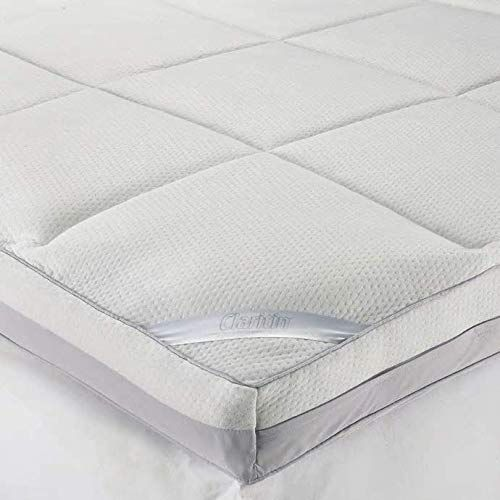 Claritin Ultimate Comfort 3 Inch Memory Foam Mattress Topper With Quilted Cover Memory Foam Mattress Topper Memory Foam Mattress Foam Mattress Topper