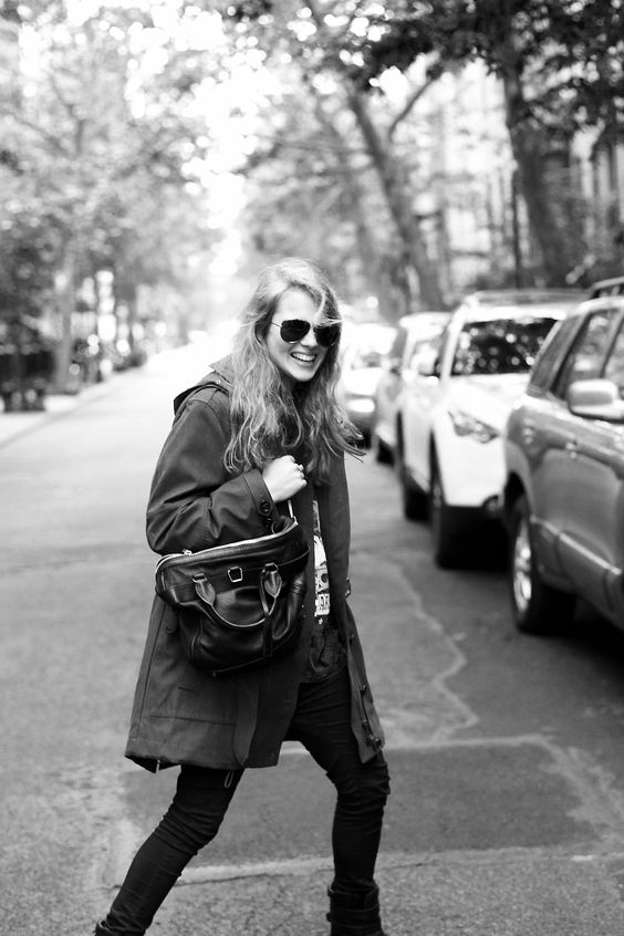 Burberry Presents British artist Marika Hackman exploring New York