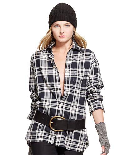Who said plaid can't be sexy?    Ralph Lauren, The Bay