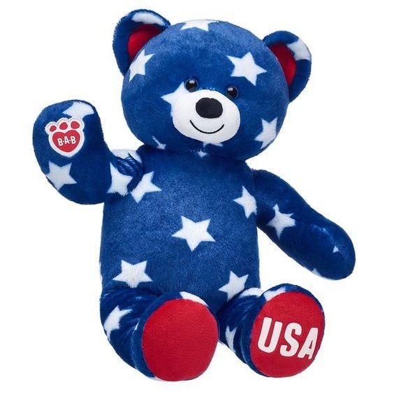 Image result for USA teddybear