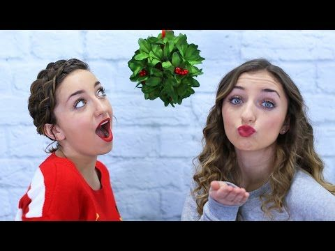 Double Dare Kissing Challenge At The Mall 12 Days Of Vlogmas