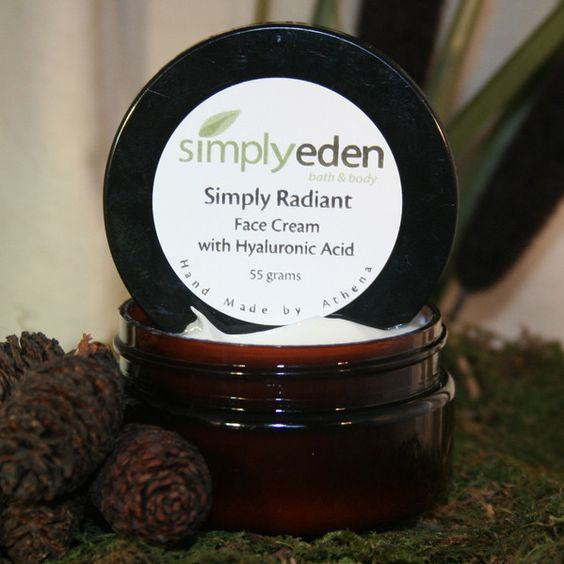 Face Cream, Simply Radiant w/Hyaluronic Acid!  Also Babassu Oil, Kukui Oil, Plantain Extract and others! $18.00
