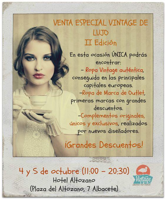 Vintage Around the World: II Edición Venta Especial Vintage de Lujo - Blog de moda vintage