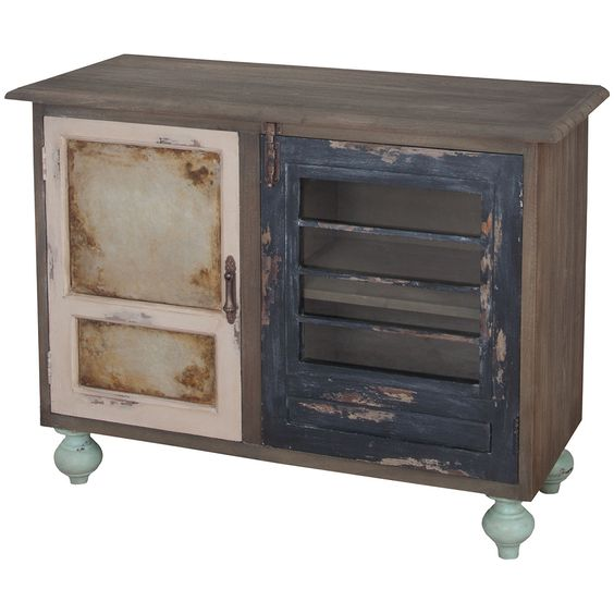 Small Painted Farmhouse Buffet - Belle Escape