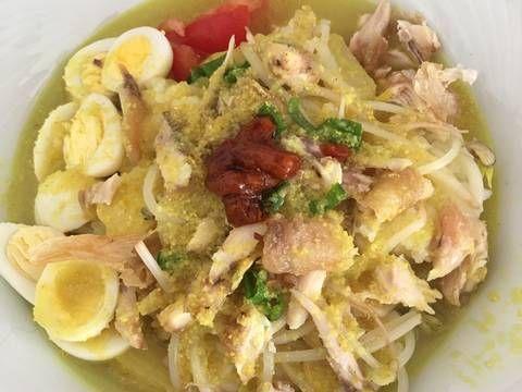 Resep Soto Ayam Sederhana Dengan Nasi Oleh Vega Pramanda Ozcan Resep Resep Masakan Resep Masakan