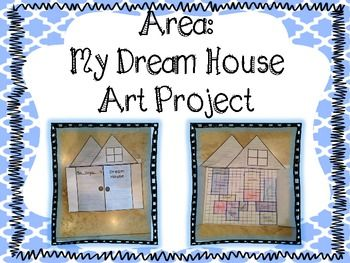 area my dream house art project 3 md 5 7 house art