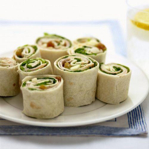 O wrap tipo sushi