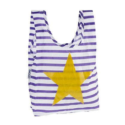 Purple and gold bag!