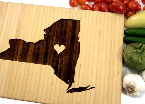 Personalized Cutting Board Custom Wedding Gift by WoodKRFT on Etsy
