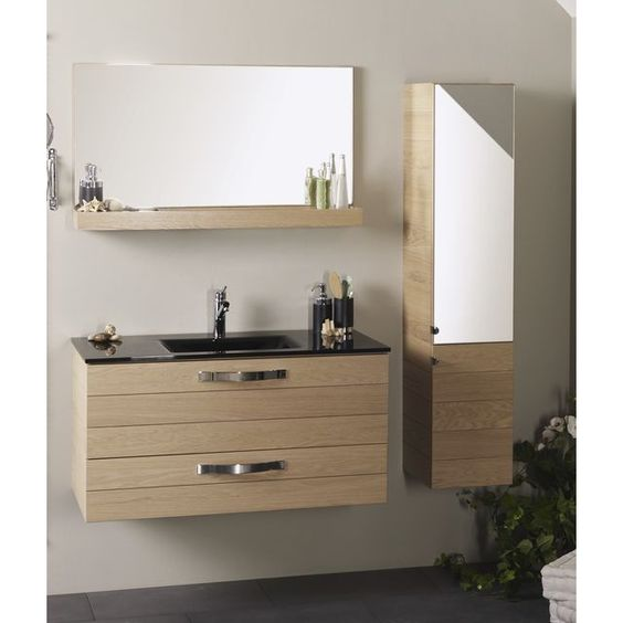 comment fabriquer soi m me un meuble pour le lavabo comment et m me. Black Bedroom Furniture Sets. Home Design Ideas