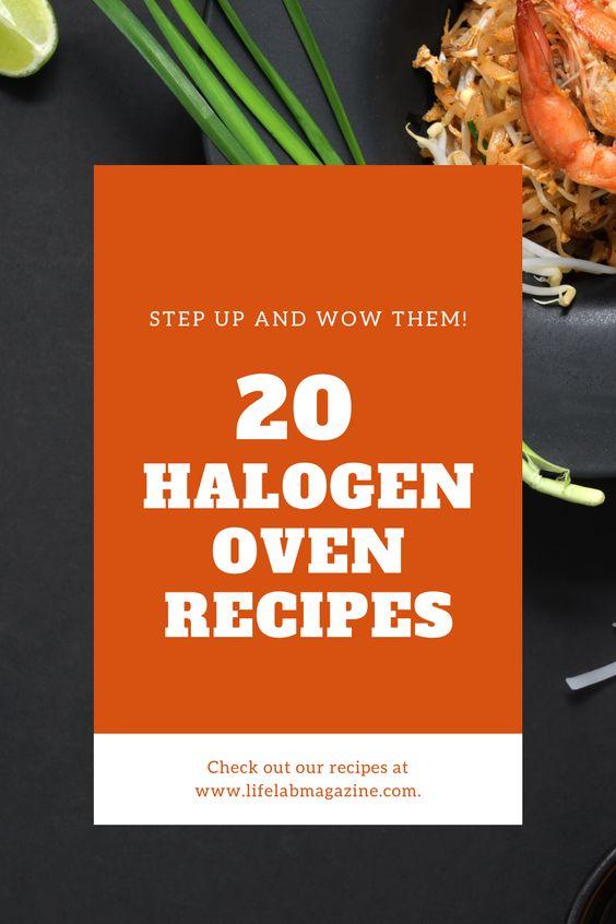 20 Halogen oven recipes