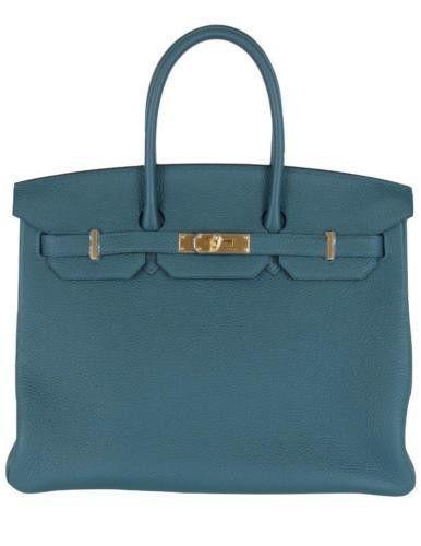 hermes bag cost - HERMES Birkin 35cm Covert Veau Togo Leather Gold Hardware 2015 T ...