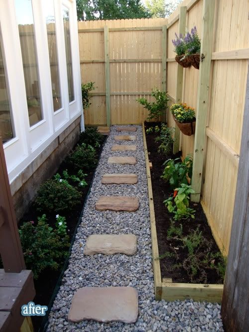 Pea Gravel Backyard For Dogs : 15 Creative Garden Path Design Ideas  Side Yards, Pea Gravel and The