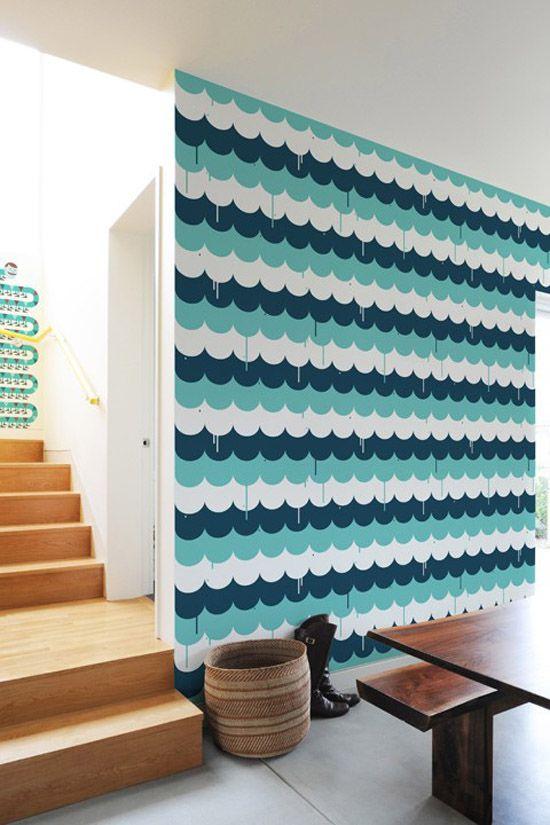scalloped wall tiles