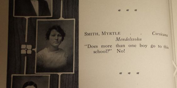 These Yearbook Quotes From 1914 Are Better Than You Can Even Imagine  - CountryLiving.com