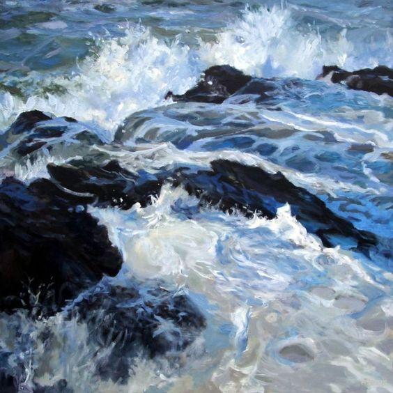 "Julian Askins ~ ""End of The Storm"" ~ Oil on Canvas"
