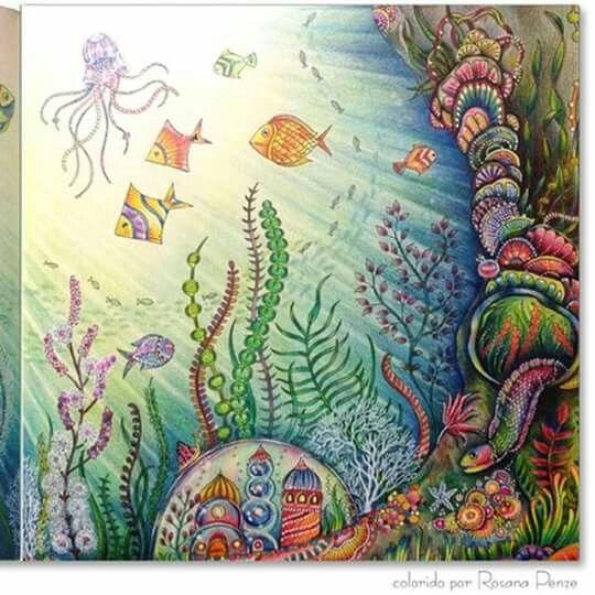 Lost ocean Johanna Basford Lost Ocean Pinterest Ps