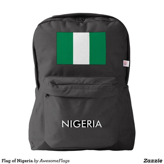 Flag of Nigeria Backpack