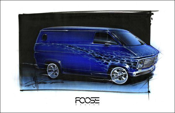 Chip Foose Drawings