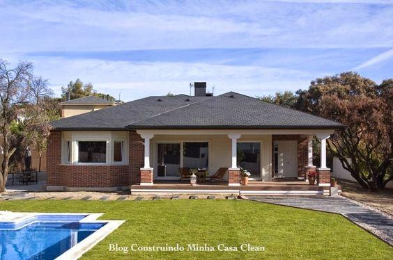 Construindo Minha Casa Clean: Fachadas de Casas de Campo Maravilhosas!!!