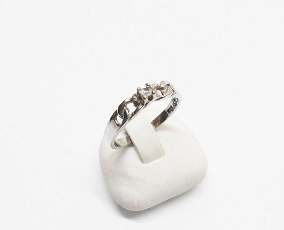 Alter Ring Silber 925 Silberring mit  von Schmuckbaron auf Etsy