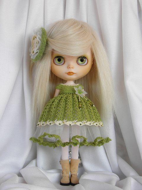 muñeca verde