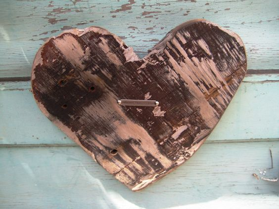 Embrace Imperfection Rustic Wood Heart Wood Wall Art Romantic Home Decor Driftwood Heart Reclaimed Wood Heart Wood Art Driftwood Art by BlackCrowCurios on Etsy