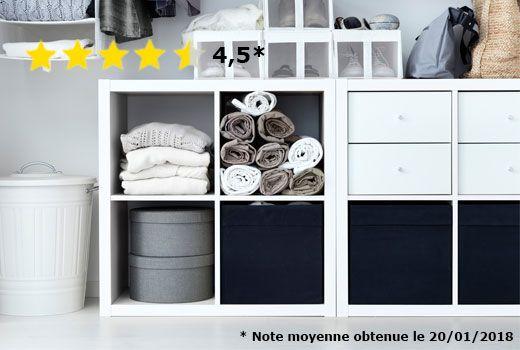 Pour Salle De Bains De L Etage Kallax Ikea Kallax Shelving Unit Shelving Unit