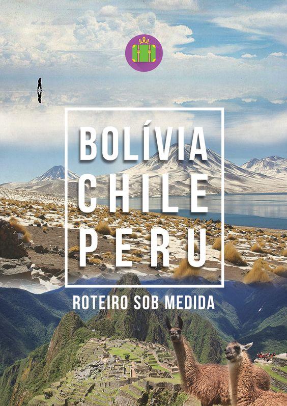 Capa para Roteiro sob medida: Bolívia, Chile e Peru