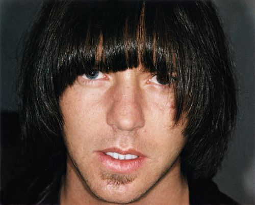 "Johnny Ramone: ""My Hair fell out in huge clumps. I got a wig made that cost four thousand dollars. I wore it one time and I felt ridiculous. I gave it to Eddie Vedder. One night he was hanging out with Theo Epstein. He called me the next day and said, ""I was drunk last night and took photos with the wig on."" He sent them to me and they were hysterical. Eddie and Theo, drinking and wearing the wig. The photos were worth the four grand."""