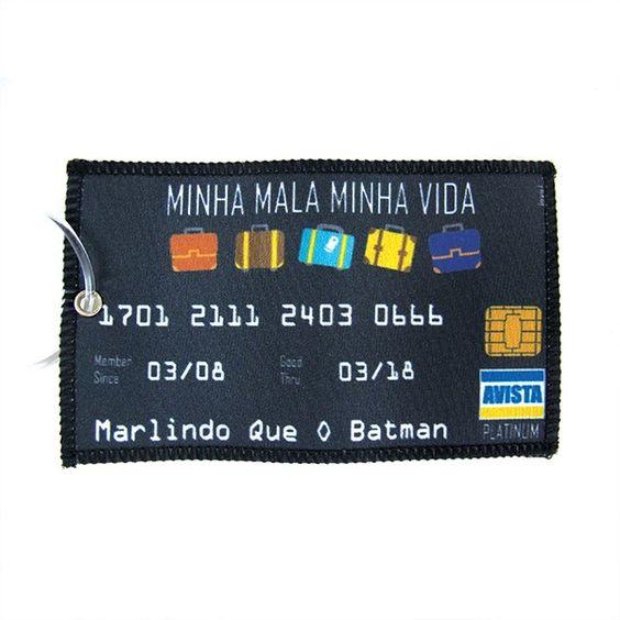 Tag Mala Cartão de Crédito