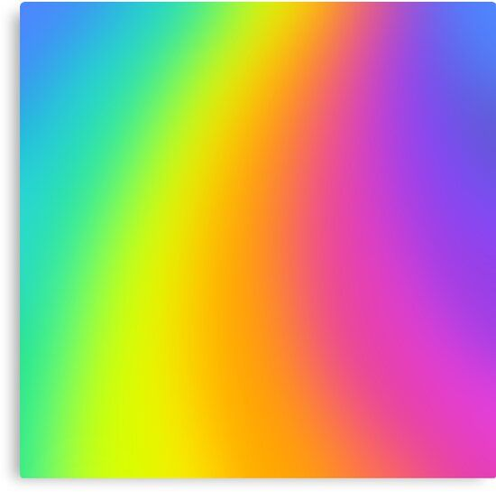 Bright Prismatic Rainbow Gradient Design Canvas Print By Kelseylovelle In 2021 Rainbow Wallpaper Backgrounds Rainbow Color Background Rainbow Wallpaper