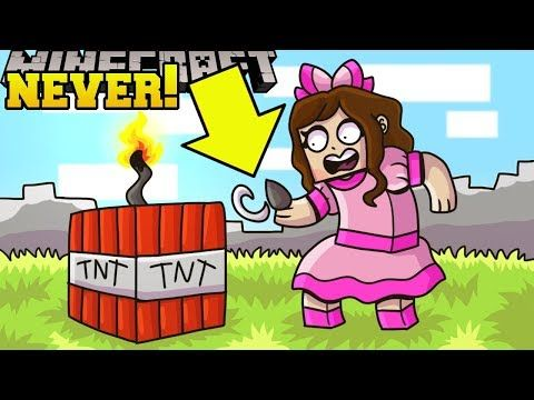 Minecraft Never Blow Up Tnt World Of Explosions Custom Map Youtube Custom Map Popularmmos Explosion