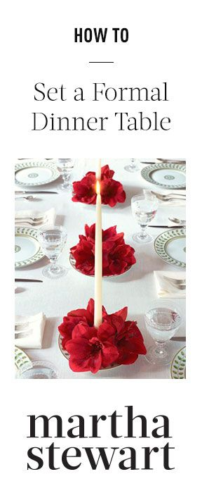 How to Set a Formal Dinner Table: Wedding Idea, Table Decoration, Table Setting, Party Idea, Valentine, Christmas Table, Center Piece