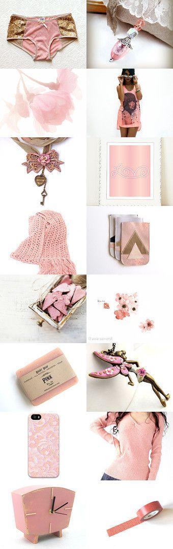 Female Rock Star, a jewelry by NaLa Etsy treasury ... https://www.etsy.com/treasury/NzQ0NzM5M3wyNzIzNzY1NTIz/female-rock-star #pink #vintage #fashion #gifts