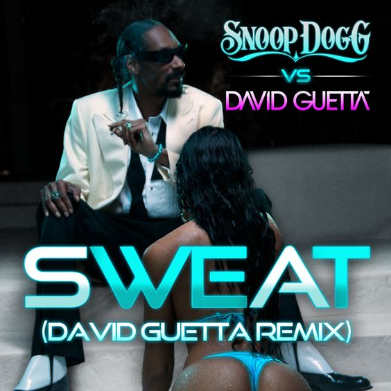David Guetta, Snoop Dogg – Sweat (single cover art)