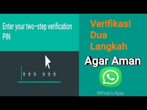 How To Enable Whatsapp Two Step Verification For Save Account Youtube Aplikasi Youtube