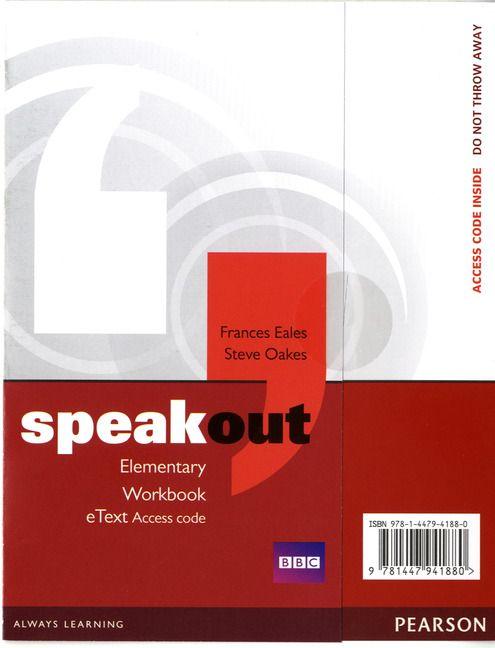 Speak Out Elementary Pdf Skachat Elementary Workbook Education