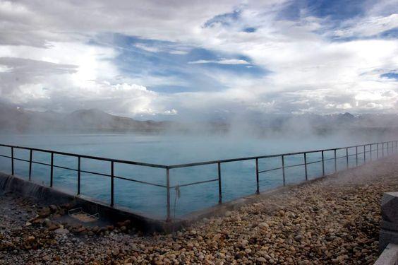 Aguas Termales de Yangpachen, Tibet, China