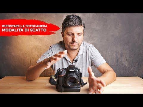 Come Impostare La Fotocamera Modalità Di Scatto Youtube Fotocamera Consigli Fotografici Fotografia