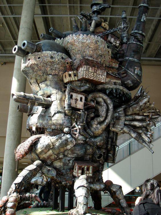 Howl's casle as a sculpture - pretty dang big big-castle.JPG (1200×1600)