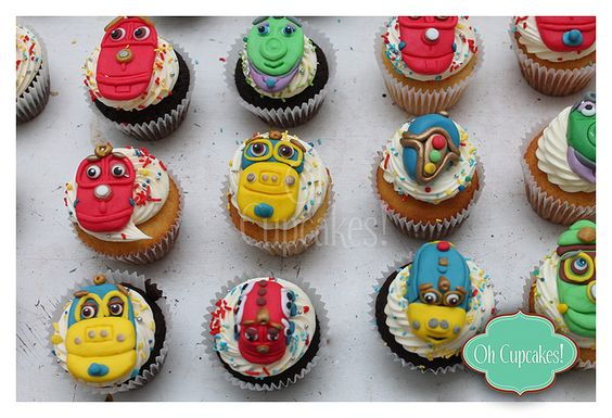 Wowzers, these Chuggington cupcakes are amazing!!