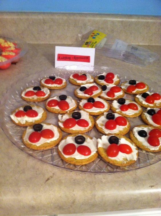 Ladybug 1st birthday girl birthday birthday for Appetizers decoration