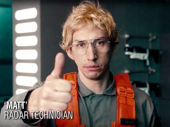 VIDEO: Adam Driver Channels Kylo Ren (in a Wig!) for SNL's Hilarious Undercover Boss Spoof