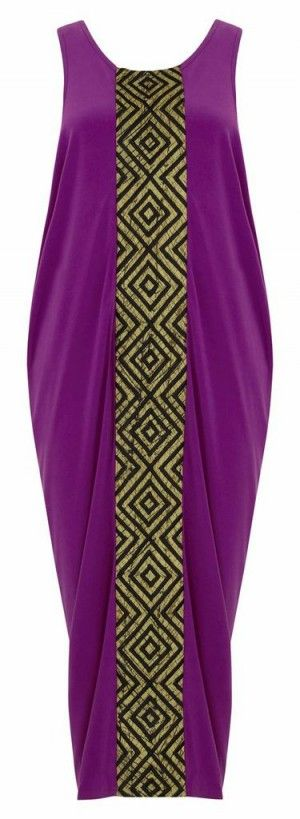 Fuchsia Dress ~African Prints, African women dresses, African fashion styles, African clothing, Nigerian style, Ghanaian fashion ~DK: