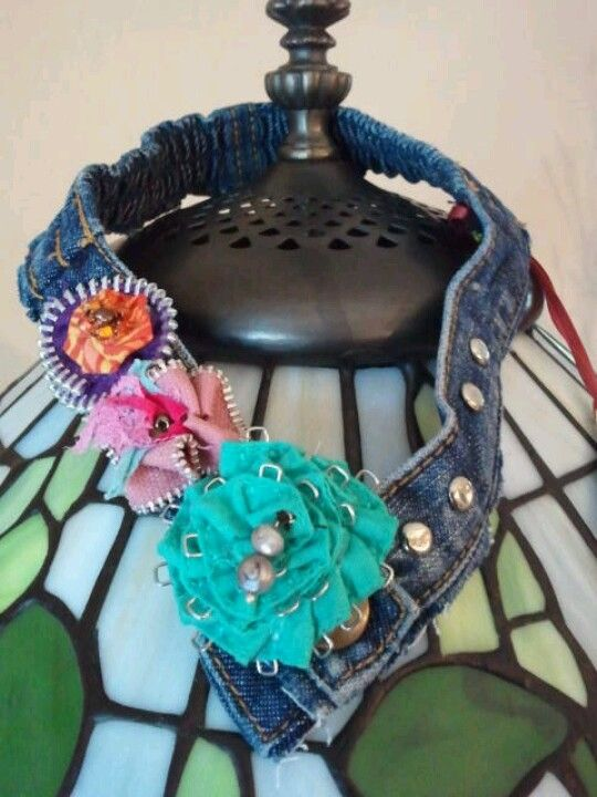 Child Headband/Necklace with Multi Flowers and Studs. www.facebook.com/fridayimsassy.