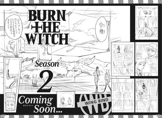 Tite Kubo Tiết Lộ Các Trang Nháp Cho Manga 'Season 2' Của Burn The Witch
