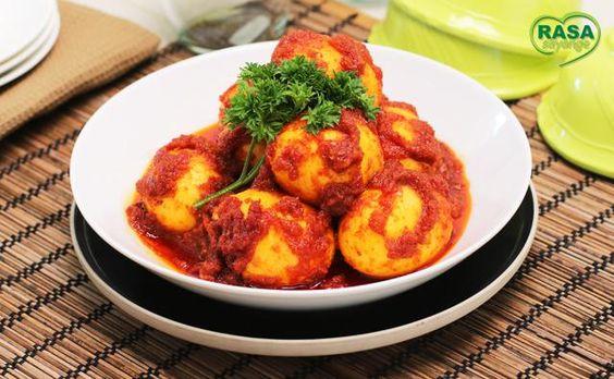 Telur Balado   rasasayange.co.id