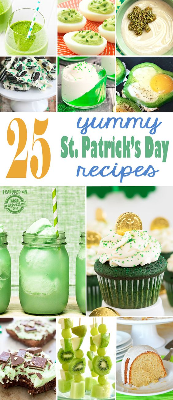 25 {YUMMY} St Patricks Day Recipes