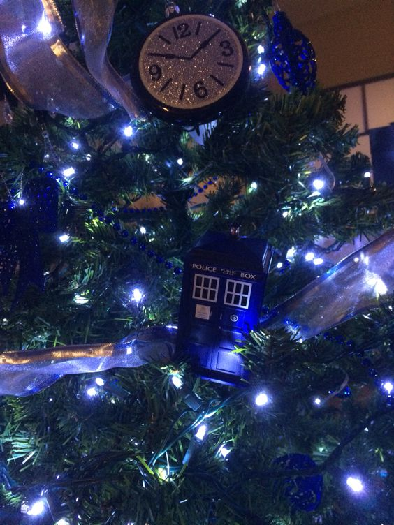 Add a TARDIS! Used a TARDIS USB hub, hooked it up to a 7.5 volt dc adapter.